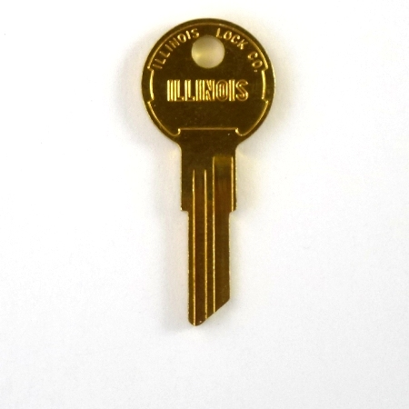 Key Fob Replacement >> Original Illinois Lock uncut key blank 360, single bitted ...