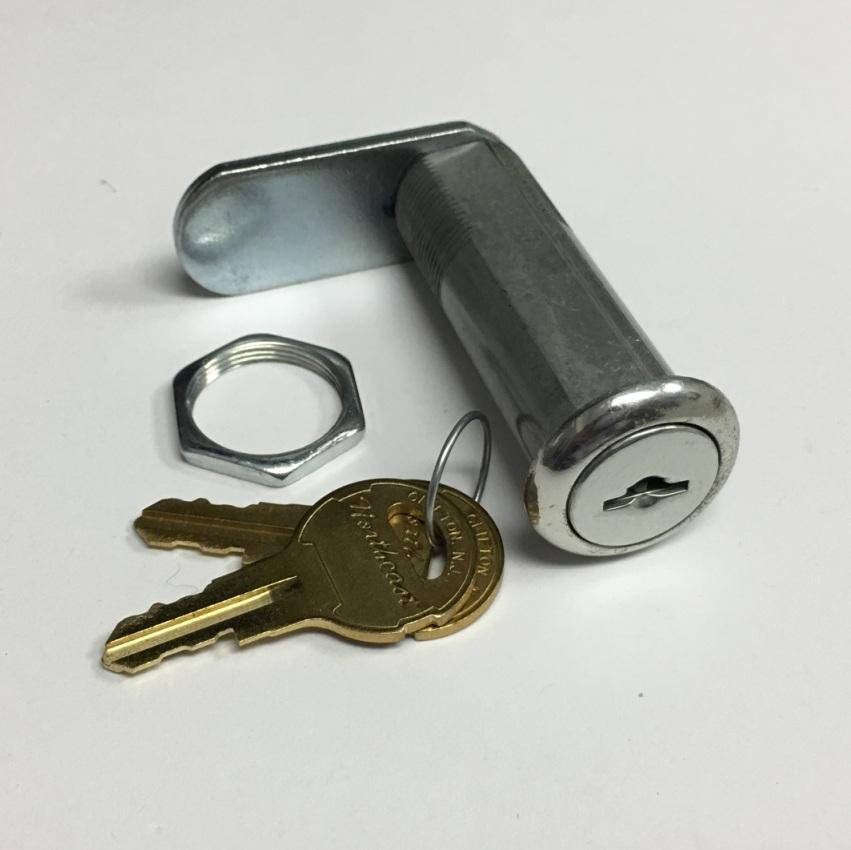"Economy Weather Resistant 7//8/"" Cam Compartment Lock Key Code 751"