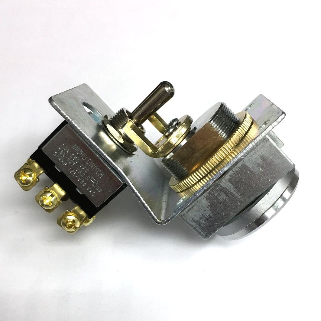 3 Pole Small Format Interchangeable Core Sfic Key Switch