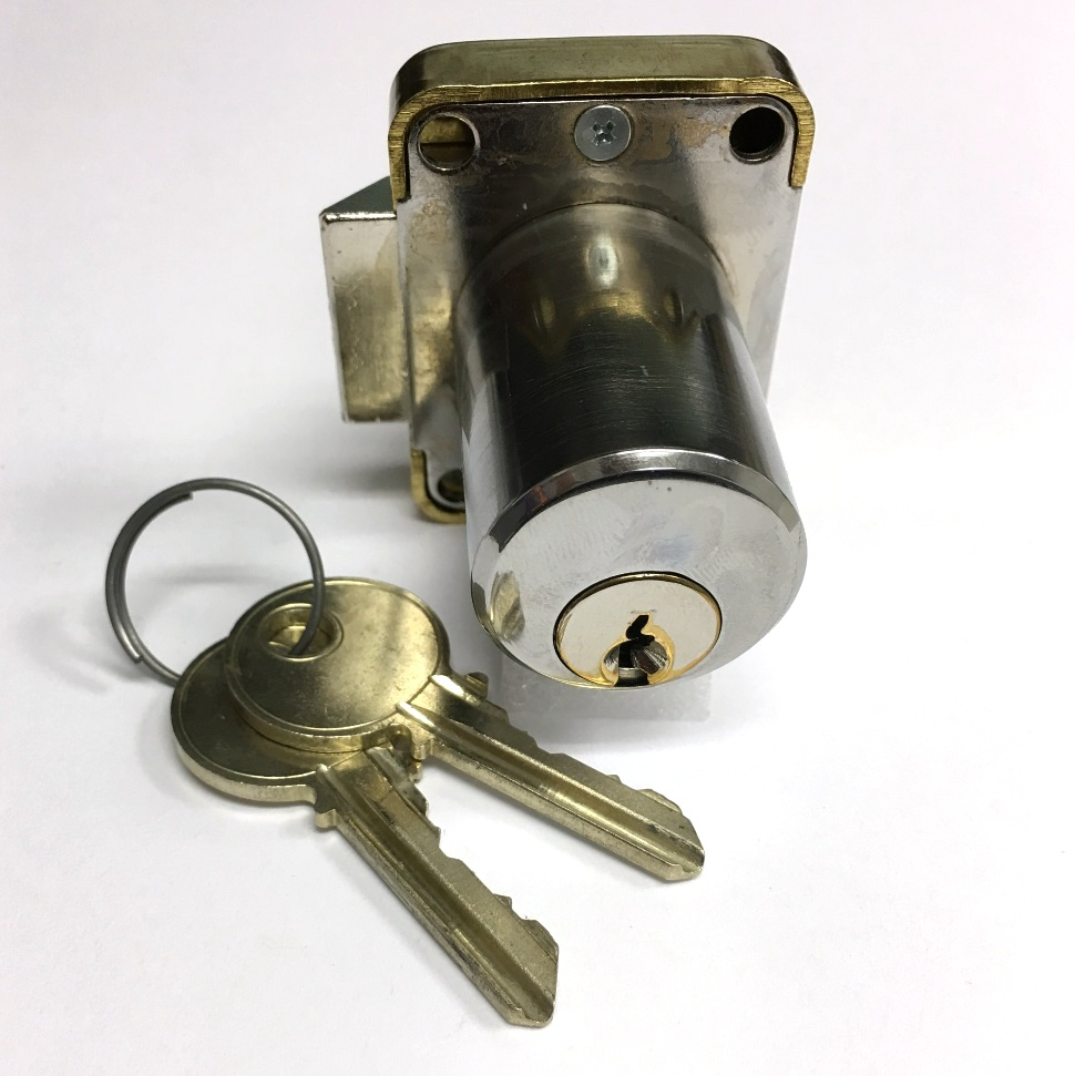 Yale 511S Cabinet Lock with two keys (RH)