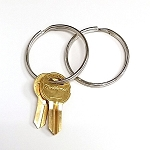 2 Inch Outside Diameter Large Key Ring