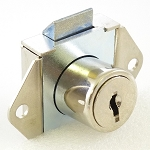 Yale Style Fire Service Flush Mount Cabinet Lock with 2 Keys