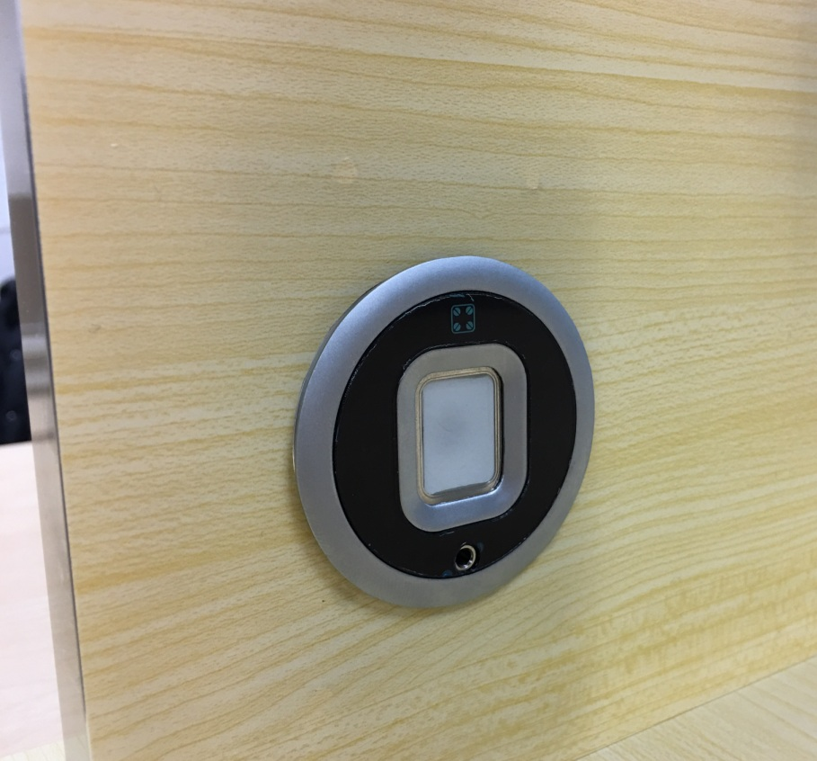 Biometric Fingerprint Lock For Wooden Drawer And Cabinet