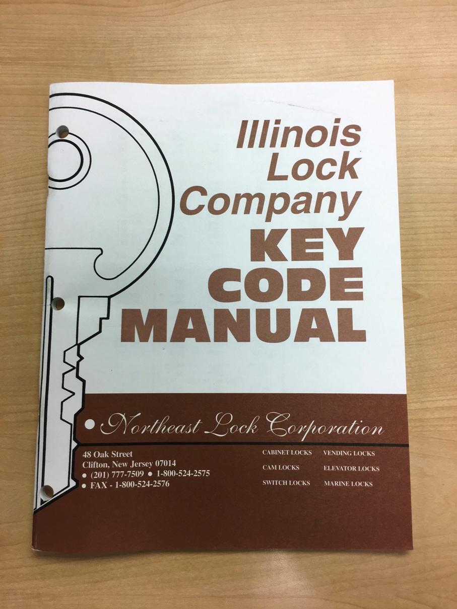 Illinois Lock Company Key Code Manual