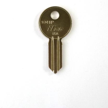 Original Illinois Lock Uncut Key Blank 310 Double Bitted