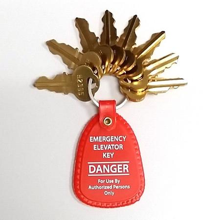 Set Of Eight 8 Dover Elevator Keys Dover Key Set With