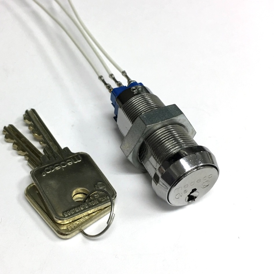 Medeco High Security Key Switch Lock Single Pole