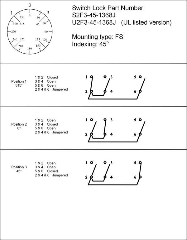three position two key pull elevator fire service phase i phase switch function diagram