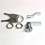 C1091 (C10911) mini cam lock with 2 tail piece cams and 2 keys