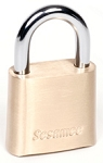 CCL Sesamee 4-Dial Brass Combination Padlock with Reset Tool