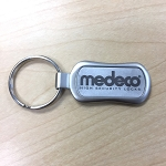 Medeco logo Key Ring