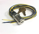 Elevator Fire service PHASE 1 key switch lock with two SC1000 keys, DPDT