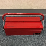Red Steel Carrying Box Firefighter and rescue personnel's emergency tools kit - Set of Eleven (11) Firefighter Elevator Door and Drop Keys