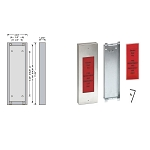 Wall Mount Elevator Door Key Box for Emergency Hostway Access