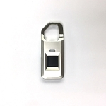 Biometric fingerprint mini padlock with backup key for backpack, luggage, locker and more