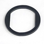 Rubber gasket for standard locks