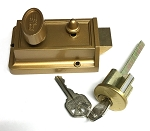 Night Latch Lock with 3502 Key Code