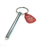 Elevator Swing Door Key (One Lug Style) with emergency tag for GAL M or N type interlock