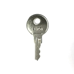 Replacement CH751 key for RV, automotive, cabinet and push locks
