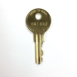 Hudson HW1002 key for E.R.M. fixtures - fire service & fire service cabinet