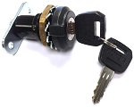 Outdoor Rated Knob Style Wing Lock with keys