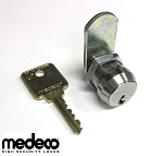 High Security Medeco Cam Lock, 5/8 inch cylinder length