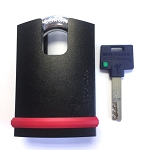 Mul-T-Lock Closed Shackle Padlock
