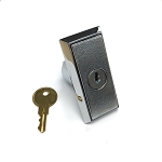 Vending machine lock pop-out T handle with core and two keys, compact size, complete set, keyed-alike