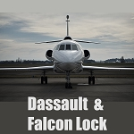 Medeco Aircraft Security Solution - Dassault and Falcon Lock