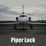 Medeco Aircraft Security Solution - Piper Lock