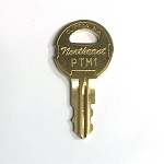 Northeast Lock PTM Series Keys