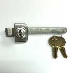 High Quality Display case Lock (Ratchet Showcase Lock) with 2 Keys