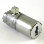 High Security Push-Button Lock Cylinder with Round Tongue for Truck Locking Door Handle