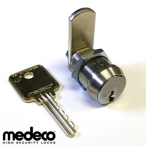 High Security Medeco Universal Cam Lock with 7/8 in. body length