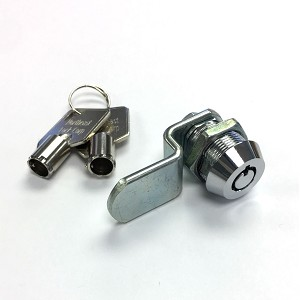 Tubular (barrel ) Mechanical Cam Lock (1 Keypull) with 2 keys - metal cabinet and key box lock