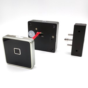 Fingerprint Cabinet Lock for Wooden Drawer and Cabinet with Advanced Semiconductor Reader and Power Jack