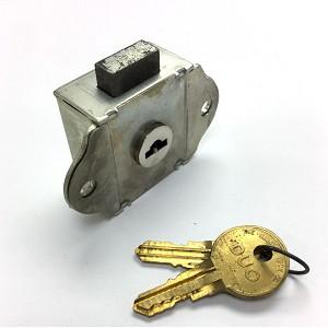 Flush Mount Locker Lock For Standard And Brunswick Steel