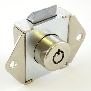 Elevator Flush Mount cabinet lock with two BFD1 keys