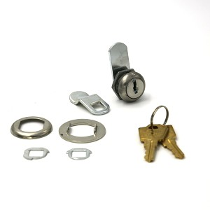 "Hudson Lock 7/16"" body length multi-purpose disc tumbler cam lock, with 2 keys keyed alike"