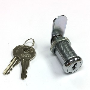 "CH751 Lock with 4 body length options, 5/8"" to 2-1/8"" length cam lock with 2 CH751 keys"