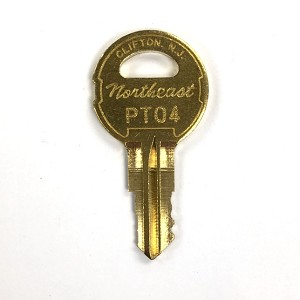 Northeast Lock PTL PT04 elevator Key