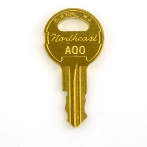 Montgomery A00 Key - escalator run/stop key