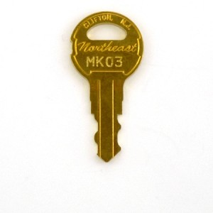 Montgomery / KONE MK03 Elevator Key - Light, fan, independent service