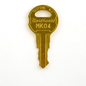 Northeast MK04 Key for Montgomery - KONE elevator inspection