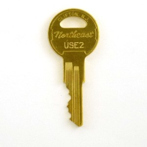 USE2 Key - elevator hall / car access (moves elevator up & down, ignoring interlock state), inspection service key