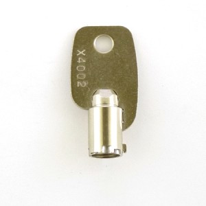 X4008 tubular (barrel ) Key