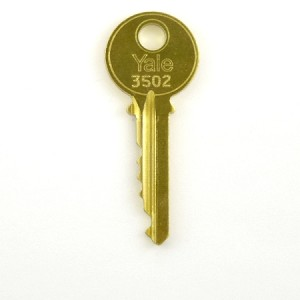 Yale 3502 Key for Elevator Fire Service