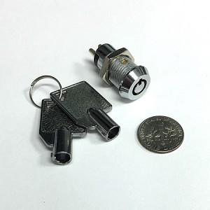 mini key switch lock - Maintaining no spring back, Normally Closed