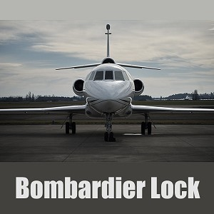 Medeco Aircraft Security Solution - Bombardier Lock