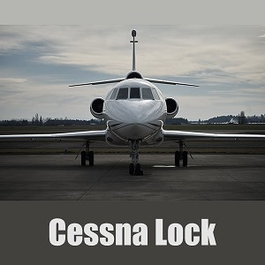 Medeco Aircraft Security Solution - Cessna Lock